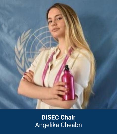 Angelika Cheabn - DISEC Chair