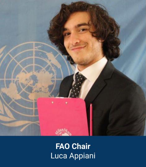 Luca Appiani - FAO Chair