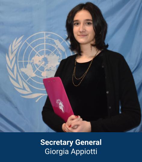 Giorgia Appiotti - Secretary General