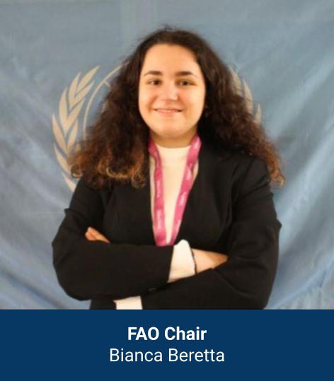 Bianca Beretta - FAO Chair