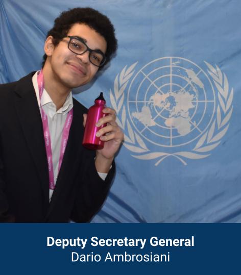 Dario Ambrosiani - Deputy Secretary General