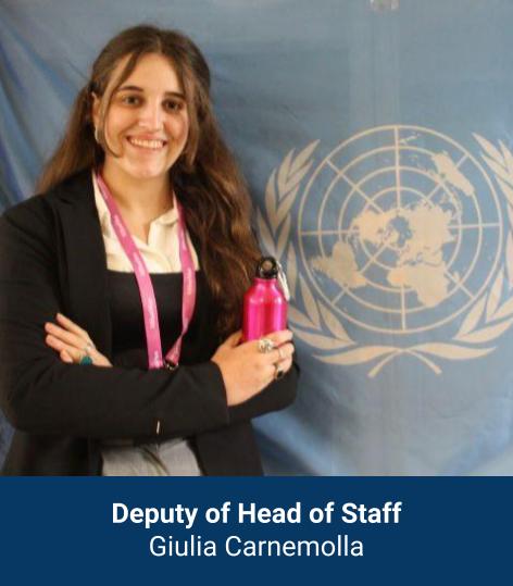 Giulia Carnemolla - Deputy Head of Staff