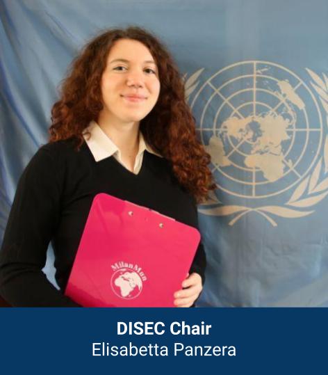Elisabetta Panzera - DISEC Chair