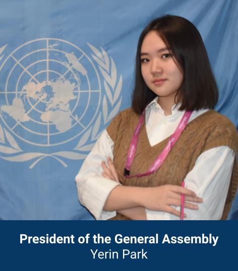 Yerin Park - President of General Assembly