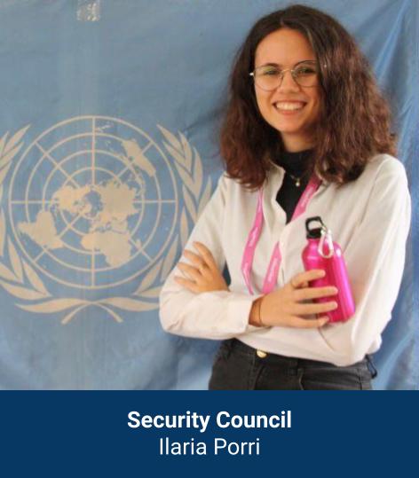 Ilaria Porri - Security Council Chair
