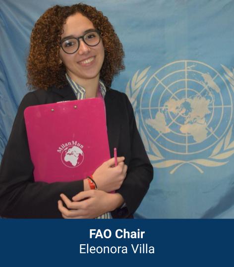 Eleonora Cristina Villa - FAO Chair